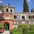 Garden In Alcazar Palace Of Seville by Artur Bogacki