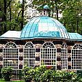 Garden Kiosk At Summer Palace by Gerald Blaine