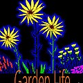 Garden Life Neon Flower by James and Donna Daugherty