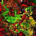 Garden Lizard by Elizabeth McTaggart