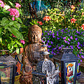 Garden Meditation by Charlene Mitchell