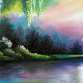 Garden Of Eden I by James Christopher Hill