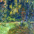 Garden Of Giverny by Claude Monet
