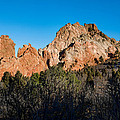 Garden Of The Gods Formation by Dan Sabin