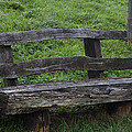 Garden Park Bench by Miguel Winterpacht