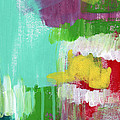 Garden Path- Abstract Expressionist Art by Linda Woods