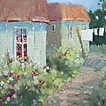 Garden Path  by Joyce Hicks
