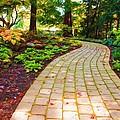 Garden Path by Michelle Joseph-Long