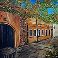 Garden Patio by Joe Christenson