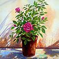 Garden Roses by Amani Al Hajeri