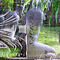 Garden Sculpture by Rosie McCobb
