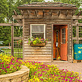 Garden Shed by Lindley Johnson