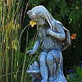 Garden Statuary by Michael Saunders