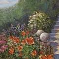 Garden Steps by Claiborne Hemphill-Trinklein