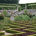 Garden Symmetry Chateau Villandry  by Christiane Schulze Art And Photography