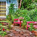 Garden Treasures At Aunt Eden's By Diana Sainz by Diana Sainz