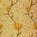 Garden Tulip Wallpaper Design by William Morris
