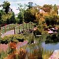 Japanese Gardens - Garden View Series 05 by Carlos Diaz
