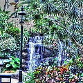 Garden Waterfall by John Straton