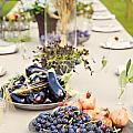 Garden Wedding Table by Sophie McAulay
