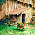 Gardening Shed by C Keith Jones
