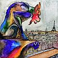 Gargoyle Of Color by David Ter-Avanesyan