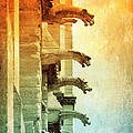 Gargoyles With Textures And Color by Carol Groenen
