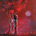 Garnet Fairy By Shawna Erback by Shawna Erback