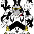 Garr Coat Of Arms Irish by Heraldry