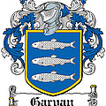 Garvan Coat Of Arms Irish by Heraldry