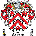 Garvey Coat Of Arms Down Ireland by Heraldry
