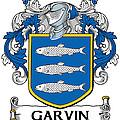 Garvin Coat Of Arms Irish by Heraldry