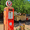 Gas Pump At Embudo Gas Museum by Jeff Black
