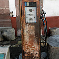 Gas Pump Color by Cathy Anderson