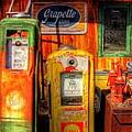 Gas Pumps 2392 by Timothy Bischoff