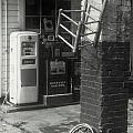 Gas Station Abstract by Rodney Lee Williams