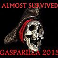 Gasparilla 2013 Postertshirt Work B by David Lee Thompson