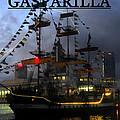 Gasparilla Ship Print Work B by David Lee Thompson