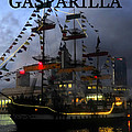 Gasparilla Ship Work A Print by David Lee Thompson
