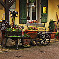 Gast Haus Display In Rothenburg Germany by Greg Matchick