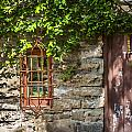 Gate And Window by Rich Franco