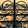 Gate In Front Of Mansion by Jill Battaglia