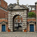 Gate Of Fortitude - Dublin Castle by Christiane Schulze Art And Photography