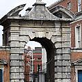 Gate Of Justice - Dublin Castle by Christiane Schulze Art And Photography