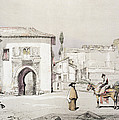 Gate Of The Vine , From Sketches by John Frederick Lewis