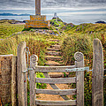 Gate To Holy Island  by Adrian Evans