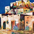 Gateway Into  The  Pueblo by Frances Marino