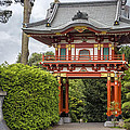Gateway - Japanese Tea Garden - Golden Gate Park by Adam Romanowicz