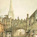 Gateway To The Close, Salisbury by Joseph Mallord William Turner