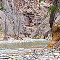 Gateway To The Zion Narrows by Rincon Road Photography By Ben Petersen
